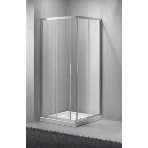 Душевой уголок BelBagno SELA-A-2-95-C-Cr стекло порзрачное уголок детский кукушка 95 95