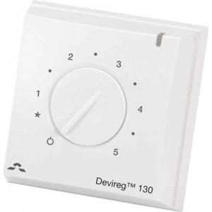 Терморегулятор Devi DEVIreg Д-130 с датчиком пола (Накладной)