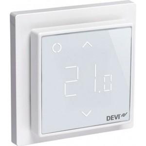 Терморегулятор Devi DEVIreg Smart интеллектуальный с Wi-Fi, полярно-белый, 16 А