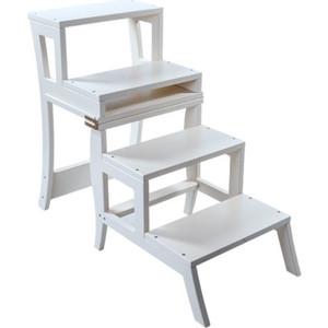Стул-лестница Мебель Импэкс Leset Бруклин белый мебель салона стул мастера кайло 29 цветов