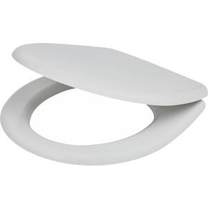 Фотография товара крышка-сиденье Jika Vega дюропласт с хром металл петлями микролифт (8.9153.5.300.063) (83503)