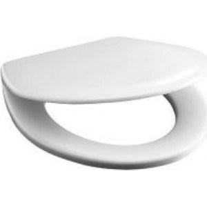 Фотография товара крышка-сиденье Jika Vega дюропласт антибак с хром металл петлями (8.9153.4.300.063) (83504)