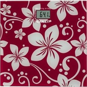 Весы Scarlett SC-BS33E088 весы scarlett sc bs33e002 цветы