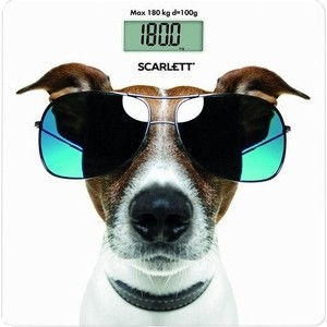 Весы Scarlett SC-BS33E090 напольные весы scarlett sc bs33e090 до 180кг цвет рисунок [sc bs33e090]