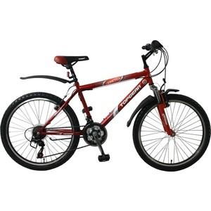 Велосипед TOPGEAR Kinetic колёса 24 красно/бордо ВН24096
