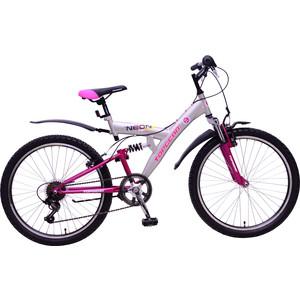 Велосипед Top Gear Neon колёса 24 серый/розовый ВН24123