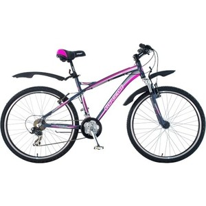 Велосипед TOPGEAR Energy колёса 26 серый/розовый ВН26357 energy