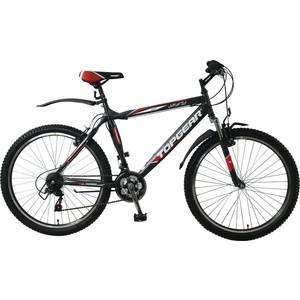 Велосипед TOPGEAR Jakarta колёса 26 серо/красный ВН26367 clean bandit jakarta