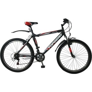 Велосипед TOPGEAR Jakarta колёса 26 серо/красный ВН26367 twice jakarta