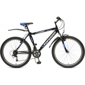 Велосипед TOPGEAR Jakarta колёса 26 черный/синий ВН26382