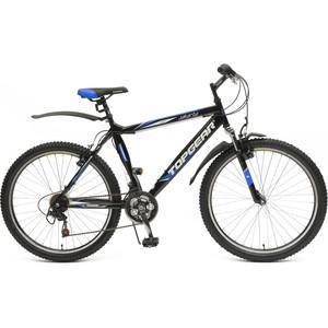 Велосипед TOPGEAR Jakarta колёса 26 черный/синий ВН26382 twice jakarta