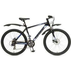 Велосипед TOPGEAR Forester колёса 26 черный/синий ВН26392