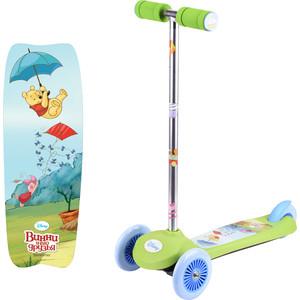Самокат 3-х колесный 1Toy Disney Винни-Пух, управление наклоном Т59546 мягкие игрушки disney винни 25 см