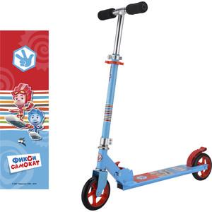 Самокат 2-х колесный 1Toy Фиксики, колёса 145мм, цвет синий Т59580 самокат 2 х колесный 1toy barbie колёса 145мм т59578