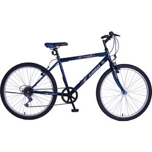 Велосипед TOPGEAR FunMax (2017), колёса 26 синий ВН26395В