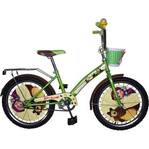 Велосипед Navigator Маша и Медведь, KITE- тип рамы, Размер 20 ВН20171К deppa чехол air case и защитная пленка для iphone 5 5s