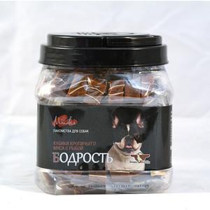 Лакомство GreenQZin Miniki Бодрость кубики кроличьего мяса с рыбой для собак мелких пород 630г (RbSu630Pc) chewell лакомство для собак всех пород куриные дольки нежные уп 100г