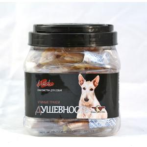 Лакомство GreenQZin Miniki Душевность утиные трахеи для собак мелких пород 200г (DkTh200Pc) лакомство мнямс для собак утиные грудки