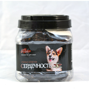 Лакомство GreenQZin Miniki Сердечность утиные сердечки для собак мелких пород 375г (DkHr375Pc) chewell лакомство для собак мелких пород нарезка из говядины уп 60г
