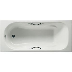 Чугунная ванна Roca Malibu 170x70 antislip с отверстиями для ручек (A2333G0000)