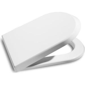 Сиденье для унитаза Roca Nexo дюропласт метал.петли (801640004) сиденье для унитаза carina дюропласт с микролифтом