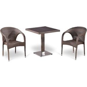 Комплект мебели из  искусственного ротанга Afina garden T502DG/Y290BG-W1289 pale (2+1)
