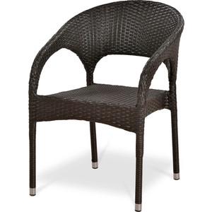 Кресло из искуственного ротанга Afina garden Y90C-W2390 brown комплект мебели из искуственного ротанга afina garden yr822bg brown green
