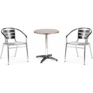 Комплект мебели Afina garden LFT-3059/T3127-D60 silver (2+1)
