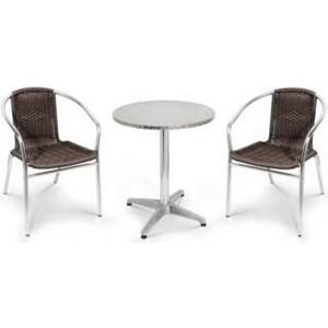 Комплект мебели Afina garden LFT-3099B/T3127-D60 brown (2+1)