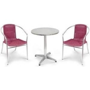 Комплект мебели Afina garden LFT-3099F/T3127-D60 bordo (2+1)