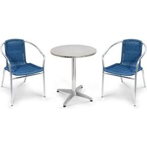 Комплект мебели Afina garden LFT-3199E/T3127-D60 blue (2+1)