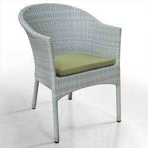 Кресло из искуственного ротанга Afina garden WS2907W white кресло из искуственного ротанга afina garden ws2907w white