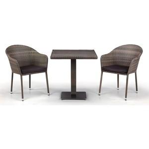 Комплект мебели из  искусственного ротанга Afina garden T601DG/Y375G-W1289 pale (2+1)