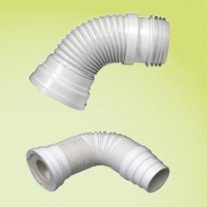Патрубок для унитаза Wirquin Jollyflex D110, внутр.поверхность гладкая, 190-305 мм (71080202)