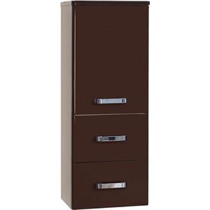 Пенал Акватон Америна подвесной тёмно-коричневая (1A137803AM430) зеркало шкаф акватон америна подвесная