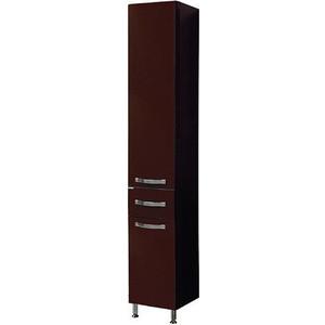 Пенал Акватон Ария 65 н темно-коричневая (1A124303AA430)  комплект мебели акватон ария 65 н тёмно коричневая