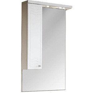 Зеркальный шкаф Акватон Домус 65 левый (1A008202DO01L) зеркало шкаф aquaton инфинити 65 1a197002if010 white