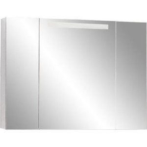 Зеркальный шкаф Акватон Мадрид 120 со светильником (1A113402MA010) зеркальный шкаф акватон мадрид 80 1a175202ma010