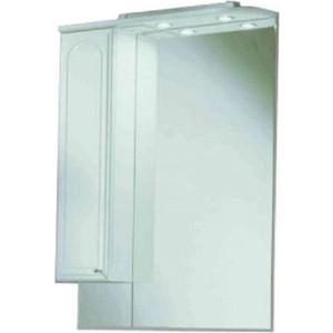 Зеркальный шкаф Акватон Майями 75 левый (1A047502MM01L) aquaton майами 75 белый