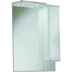 Зеркальный шкаф Акватон Майами 75 правый (1A047502MM01R) домино cube 75 правый