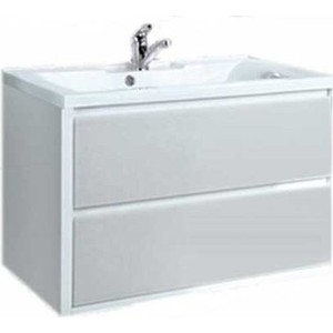 Тумба под раковину Акватон Римини 80 (1A138301RN010) акватон мебель для ванной акватон римини 80 белая