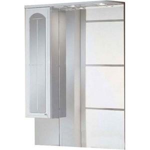 Зеркальный шкаф Акватон Эмилья 75 левый (1A011202EJ01L) акватон мебель для ванной акватон венеция 75 черная