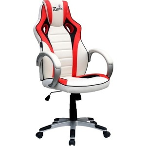Кресло Хорошие кресла GK-0202 экокожа white цена