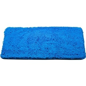 Коврик для ванной Brissen 60х90 см Chenille синий, полиэстер (BSM-8000-Blue) коврик для ванной swensa 50х80 см spa полиэстер bsm 60 0217 spa