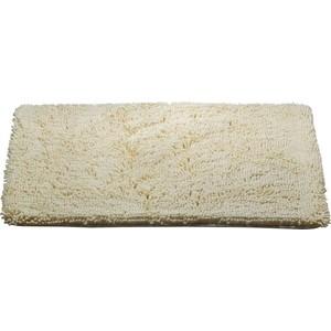 Коврик для ванной Brissen 60х90 см Chenille ваниль, полиэстер (BSM-8000-Vanilla) коврик для ванной swensa 50х80 см spa полиэстер bsm 60 0217 spa