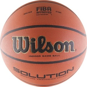 Мяч баскетбольный Wilson Solution (WTP000265) р.7 FIBA Approved VTB24 winner wr 8166