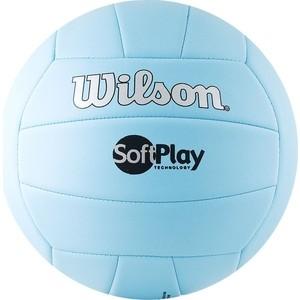 Мяч волейбольный Wilson Soft Play (WTH3501XBLU) р.5 мяч баскетбольный wilson clutch 285 wtb1440xb0603 р 6