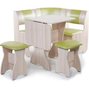 Набор мебели для кухни Бител Тюльпан мини - комби (ясень С-105 + С-101 ясень) от ТЕХПОРТ