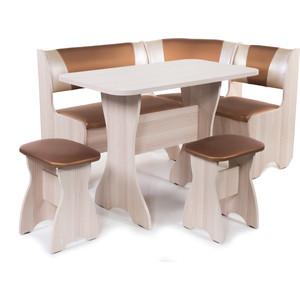 Набор мебели для кухни Бител Тюльпан - комби (ясень С-109 + С-101 ясень) от ТЕХПОРТ
