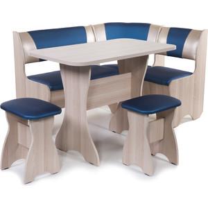 Набор мебели для кухни Бител Тюльан - комби (ясень терра эффект-114 + С-101 ясень)